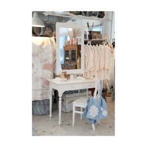 Białe biurko drewniane Castagnetti Nadine