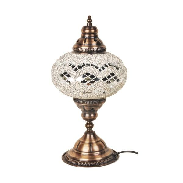 Szklana lampa Homemania Dianthe, ⌀17cm