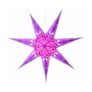 Gwiazda świecąca Siri Purple, 70 cm