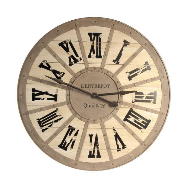 Zegar ścienny Antic Line Quai, 93 cm