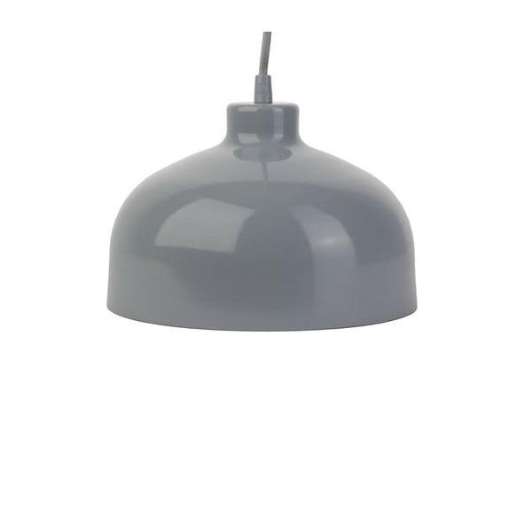Szara lampa wisząca Loft You B&B, 22 cm