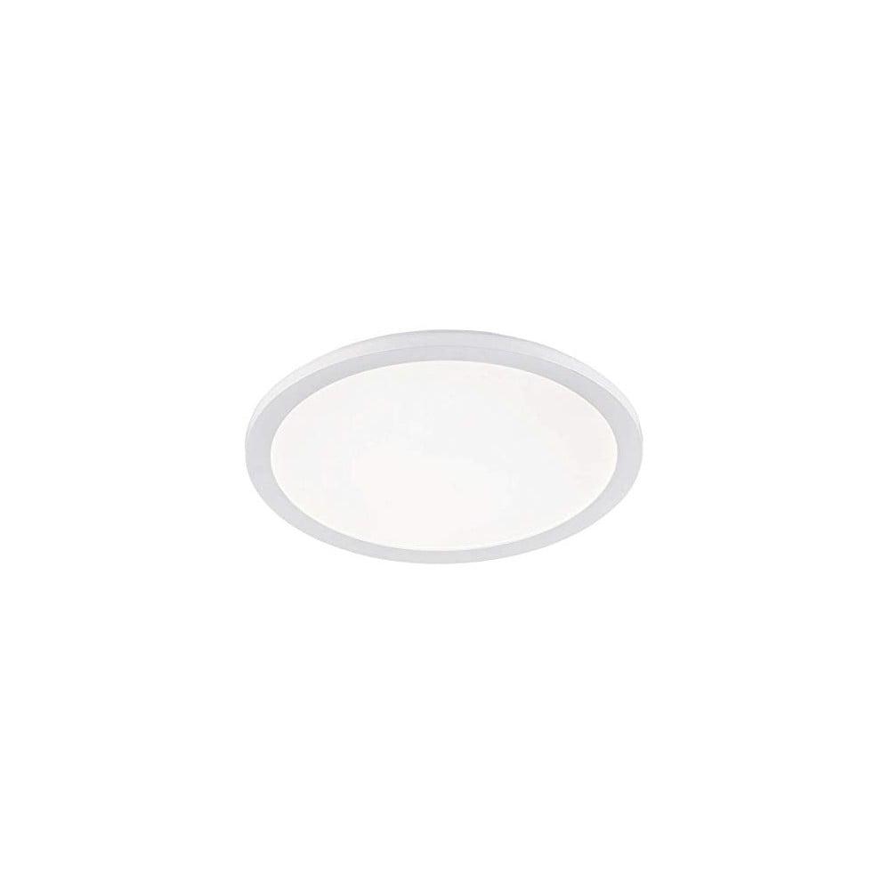 Biała lampa sufitowa LED Trio Camillus, średnica 40 cm