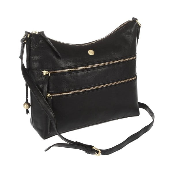 Damska torba skórzana Ginny Black