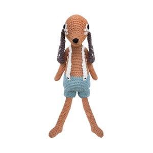 Szydełkowa zabawka Sebra Crochet Animal Dog Bob