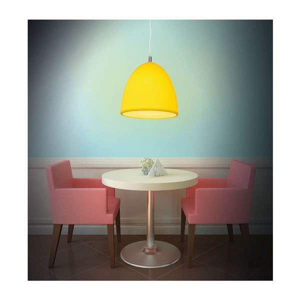Lampa sufitowa Silicon Yellow