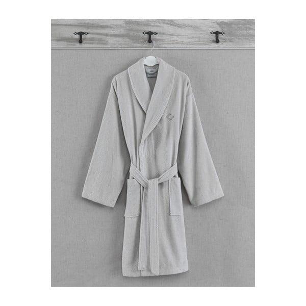 Szlafrok unisex ze 100% bawełny z kolekcji Marie Claire Iberis, rozmiar S