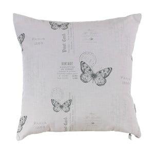 Poduszka z wypełnieniem Grey Butterfly