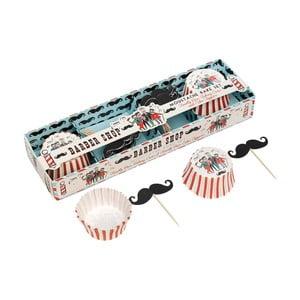 Zestaw do pieczenia muffinów Rex London Moustache