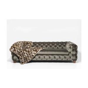 Szarozielona sofa trzyosobowa Kare Dersign My Desire