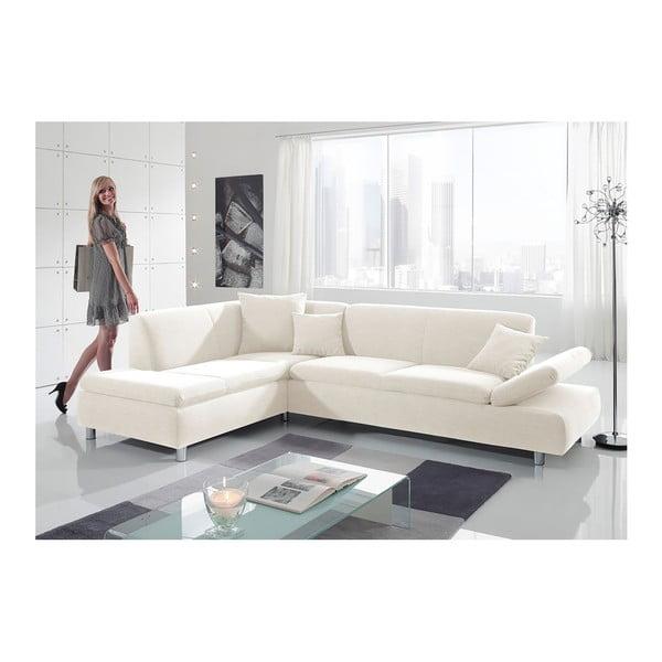 Kremowa sofa narożna Max Winzer Prag, lewostronna