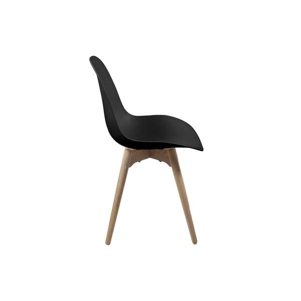Czarne krzesło Actona Scramble