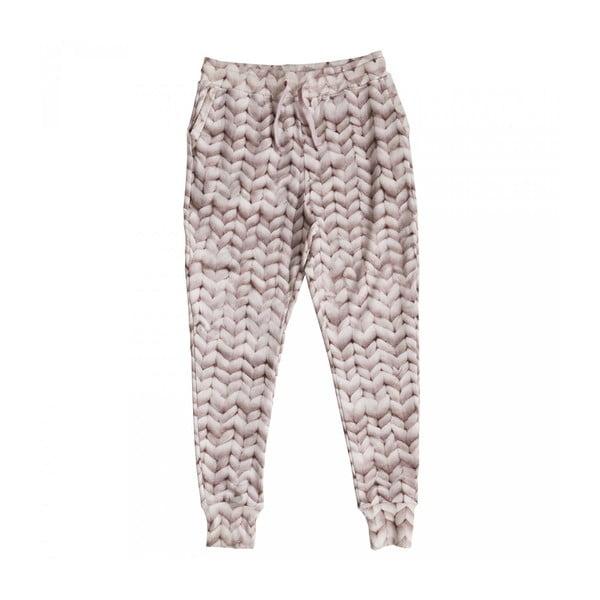 Różowe spodnie damskie Snurk Twirre, L