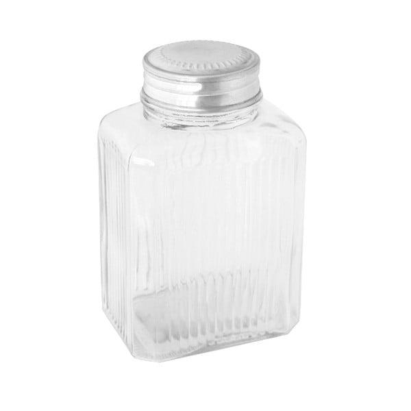 Szklany pojemnik Clear Jar, 19 cm