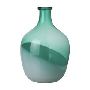 Zielony wazon Athezza Bicolour, wys. 29 cm