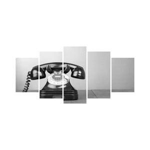 Wieloczęściowy obraz Black&White no. 52, 100x50 cm