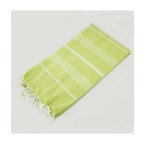 Ręcznik hammam Classic Style Green, 100x180 cm