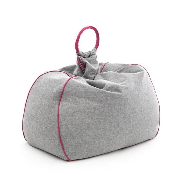 Worek do siedzenia Vivonia Indoor Grey/Pink
