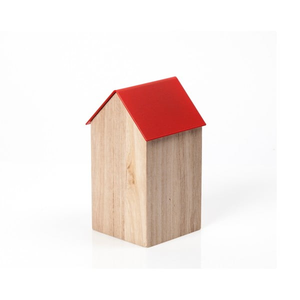 Czerwone pudełko House Medium