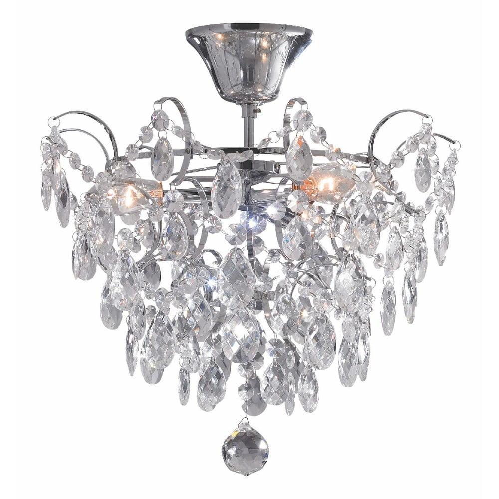 Lampa wisząca w srebrnym kolorze Markslöjd Rosendal, ø 36 cm
