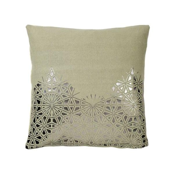 Poduszka z wypełnieniem Lace Green, 50x50 cm