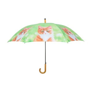 Jasnozielony parasol z kotami Esschert Design