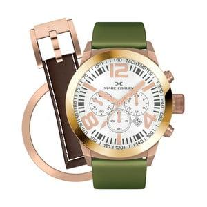 Zegarek damski Marc Coblen z dodatkowym paskiem i obręczą P90