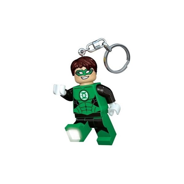 Świecąca figurka/breloczek LEGO DC Super Heroes Green Lantern
