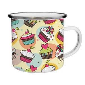 Kubek emaliowany Cupcake TinMan, 200 ml