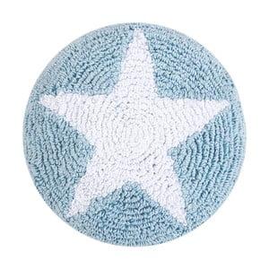 Niebieska poduszka bawełniana Happy Decor Kids Star, ⌀30cm