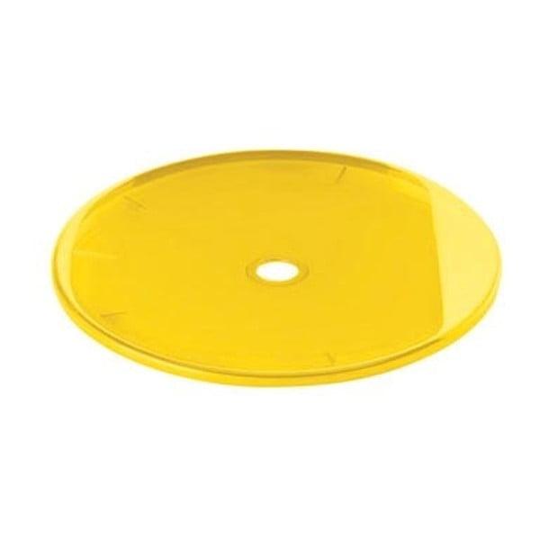 Żółte wieczko na kosz Fratelli Guzzini