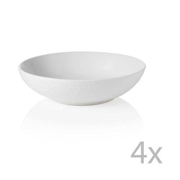 Zestaw 4 misek Granaglie Blanc, 20 cm