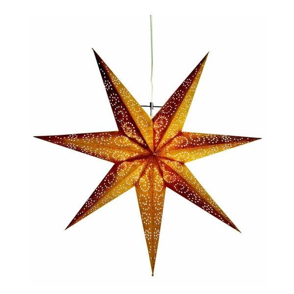 Gwiazda świecąca Antique Gold, 60 cm