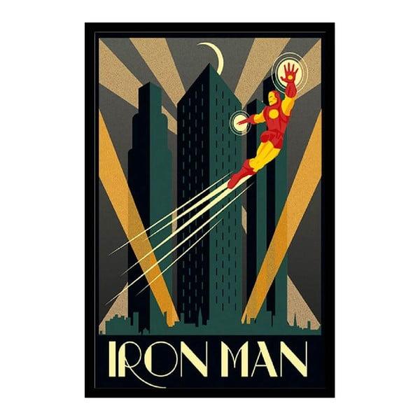 Plakat Iron Man, 35x30 cm