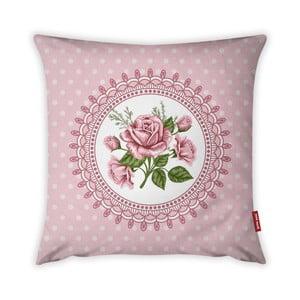 Poszewka na poduszkę Vitaus Rustic Vintage Rosa Dos, 43x43 cm