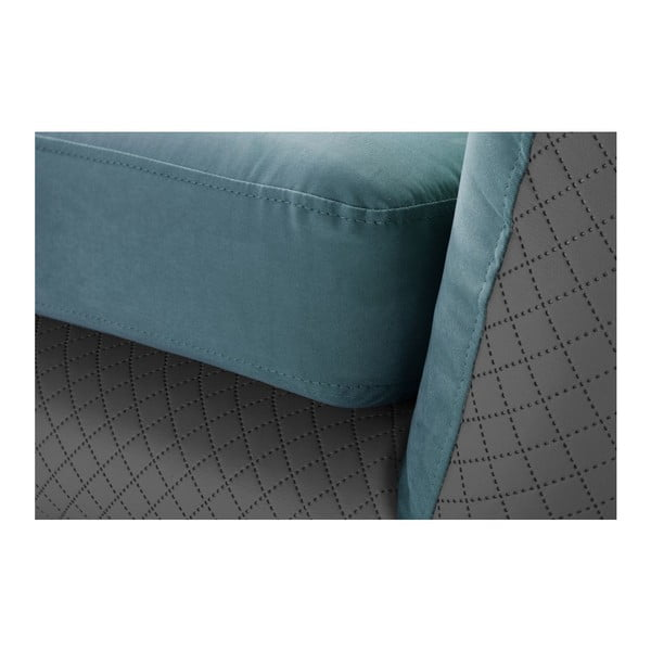 Fotel Meteore Grey/Turquoise