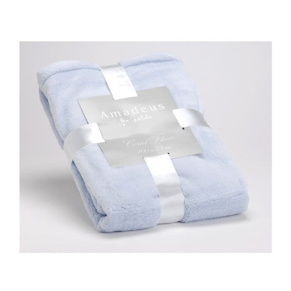 Koc Doudou Baby Blue, 100x75 cm