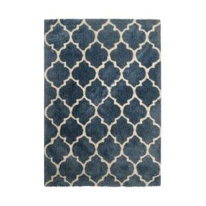 Dywan wykonany ręcznie Kayoom Smooth Blau, 160x230 cm