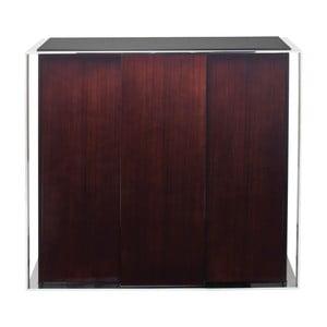 Brązowa komoda 3-drzwiowa Kare Design Vanity