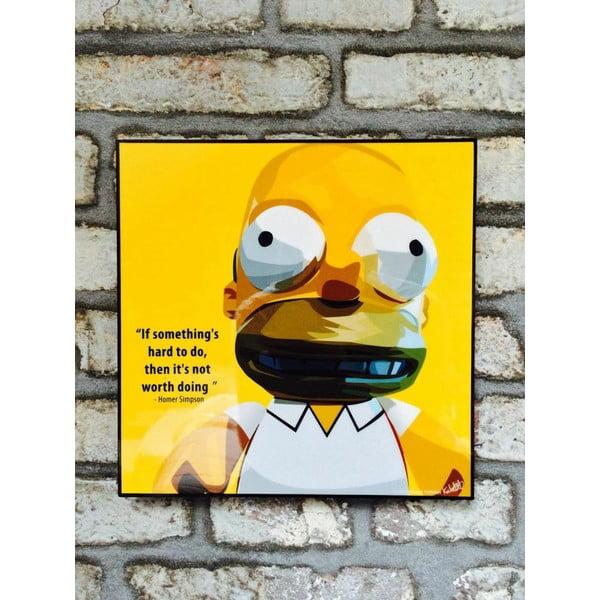 "Obraz ""Homer Simpson"""