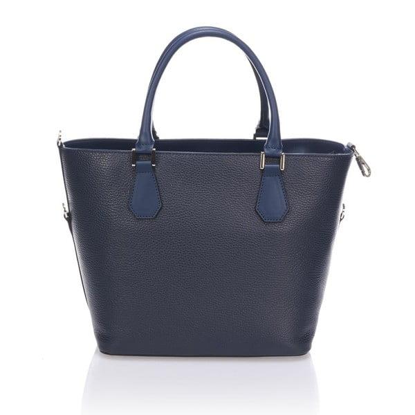 Skórzana torebka Krole Kayleen, niebieska