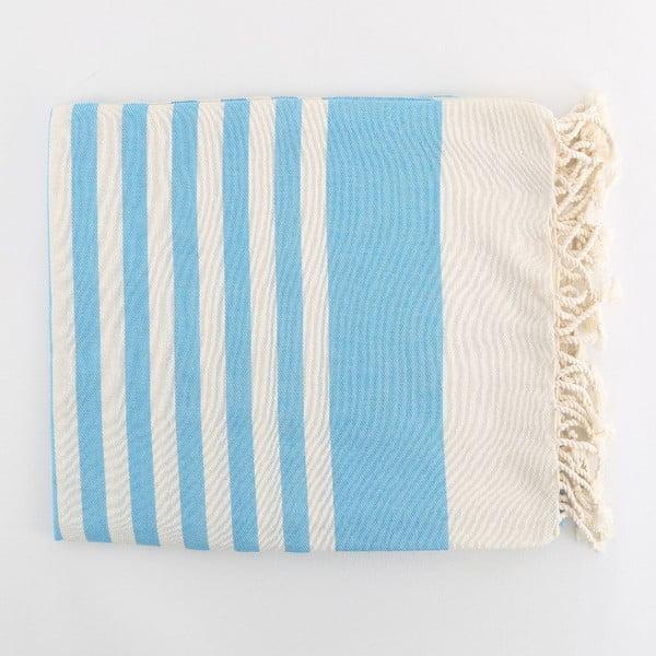 Ręcznik hammam Fouta Turquoise, 100x180 cm