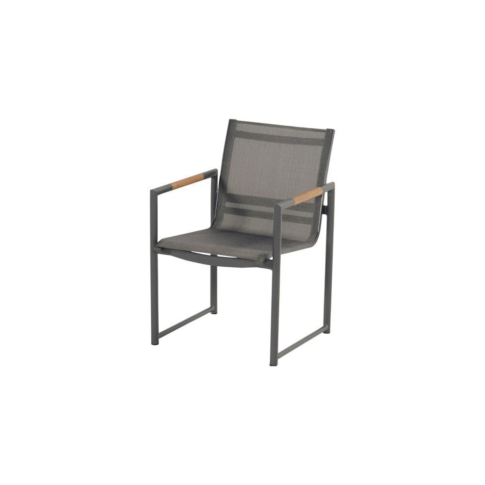 Czarne krzesło ogrodowe Hartman Fontaine