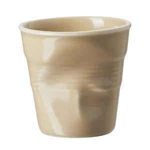 Filiżanka na espresso Froisses 8 cl, piaskowa