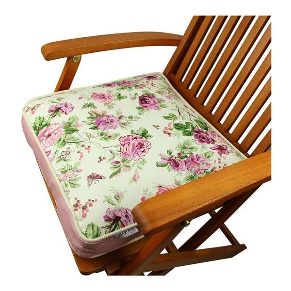 Poduszka na krzesło z wypełnieniem Gravel Kansas, 42x42cm
