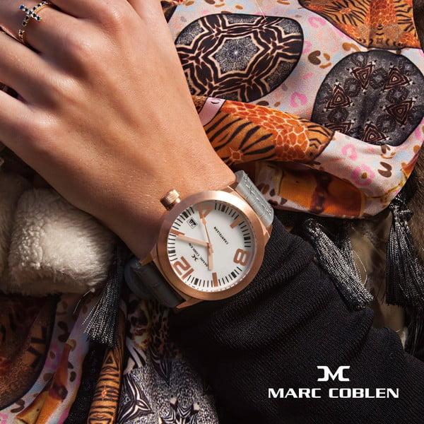 Zegarek damski Marc Coblen z dodatkowym paskiem i obręczą P87