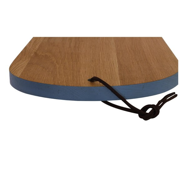 Drewniana deska do krojenia Oval Blue