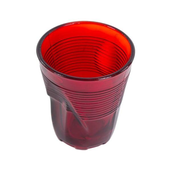Zestaw 6 szklanek Kaleidos 225 ml, czerwony