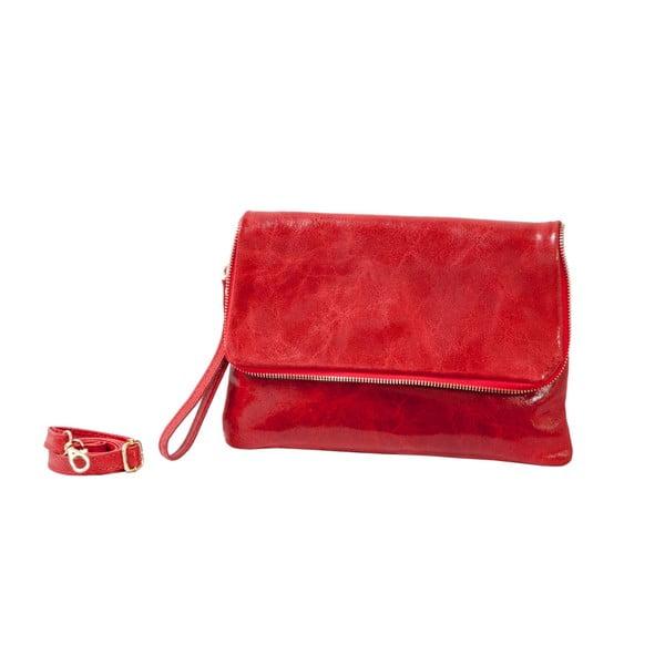 Czerwona torebka skórzana Andrea Cardone Alessia
