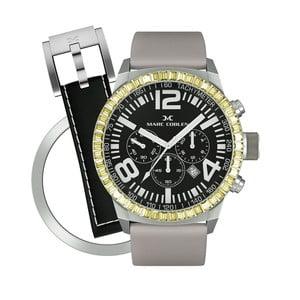 Zegarek damski Marc Coblen z dodatkowym paskiem i obręczą P115