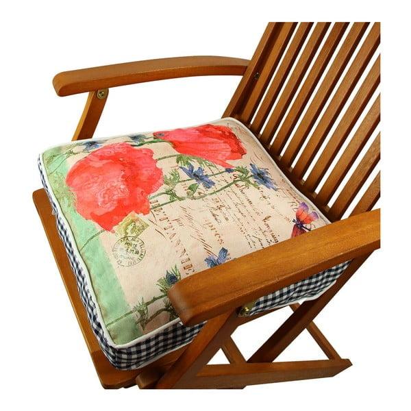 Poduszka na krzesło z wypełnieniem London, 42x42 cm